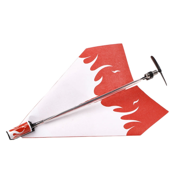 Motorized Paper Airplane Drone
