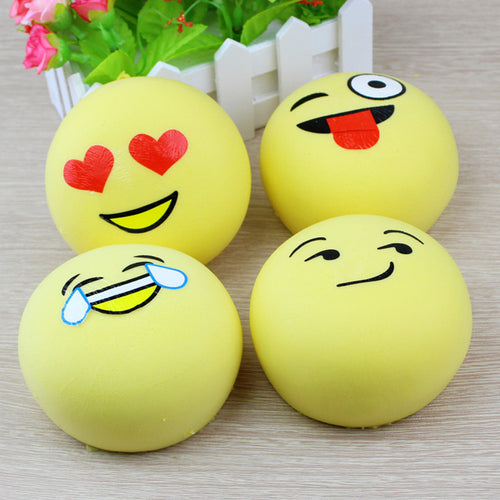Emoji Squishy - Jumbo 11CM Kawaii Artificial Bread Cake Squeeze Slow Rising Stretchy Charm Pendant Kid Bedroom Decor Straps P15