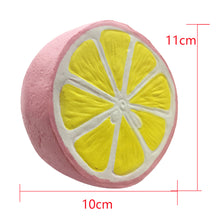 Squishy Lemon -  Jumbo 11CM Kawaii Squishy Fruit Slow Rising Squishes Gift Toy