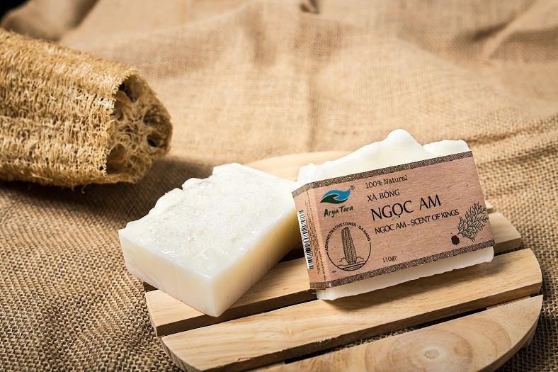 Xà bông Ngọc Am - Scent of Kings-100% Natural Arya Tara Soap
