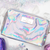 Silver Holographic Makeup Bag