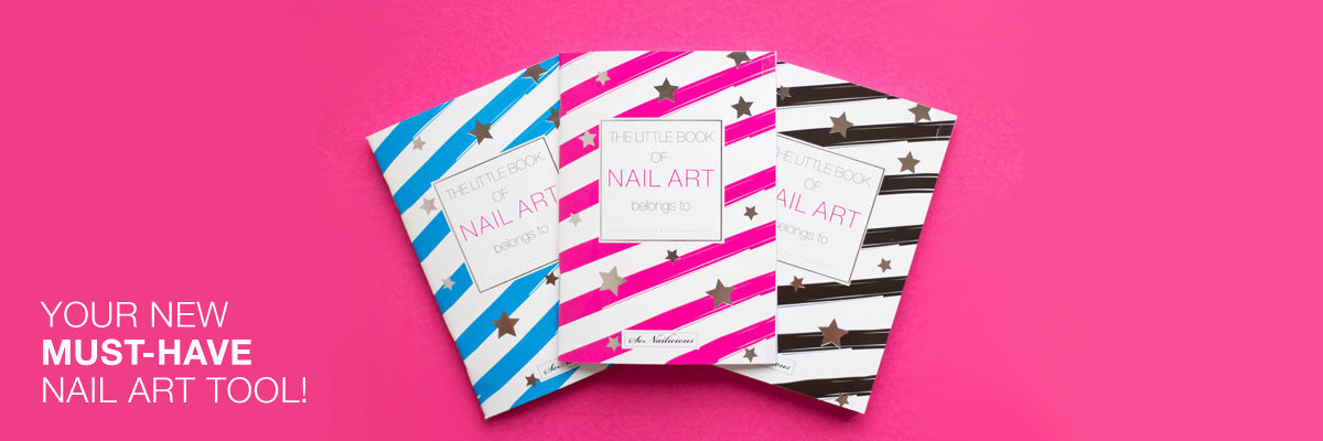 nail art sketch books