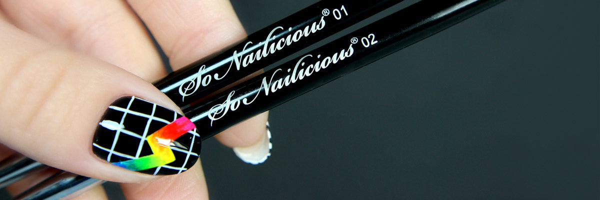 Nail Art Brushes Sonailicious Boutique