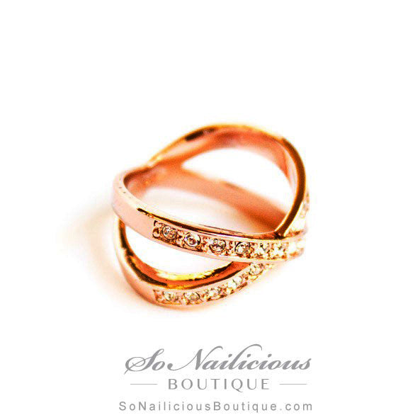 Cross Gold Ring