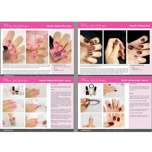 30 Easy Nail Designs E-Book Download