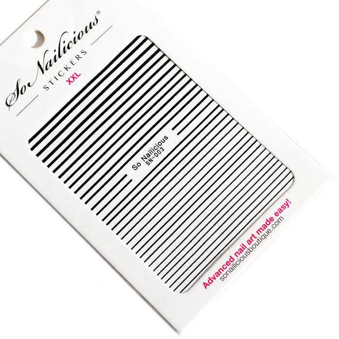 Stripe Stickers - 003 XXL - 5 Colours