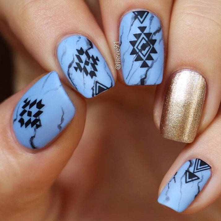 Aztec Nail Stickers