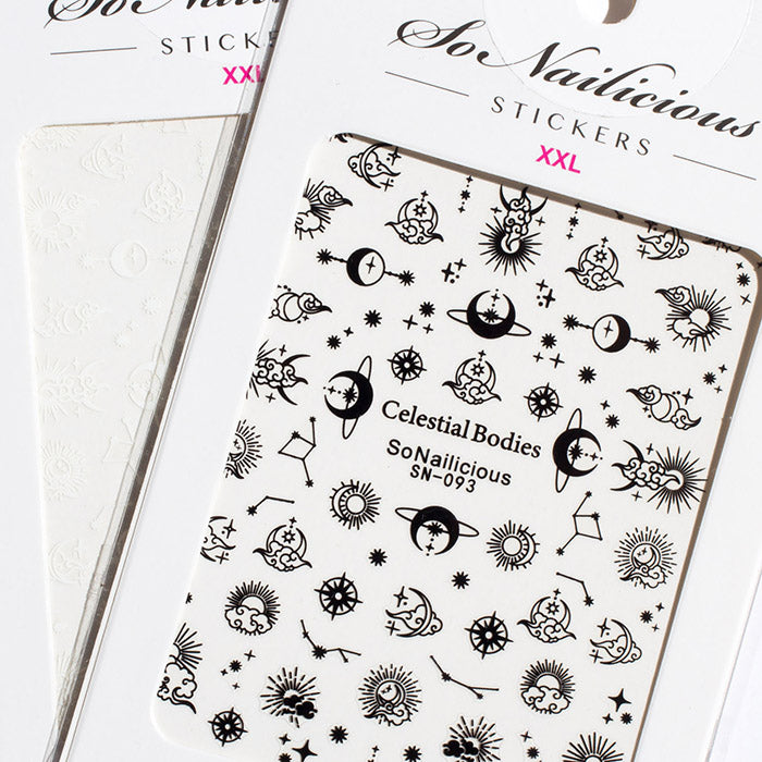 Celestial Nail Stickers Set - 2 sheets