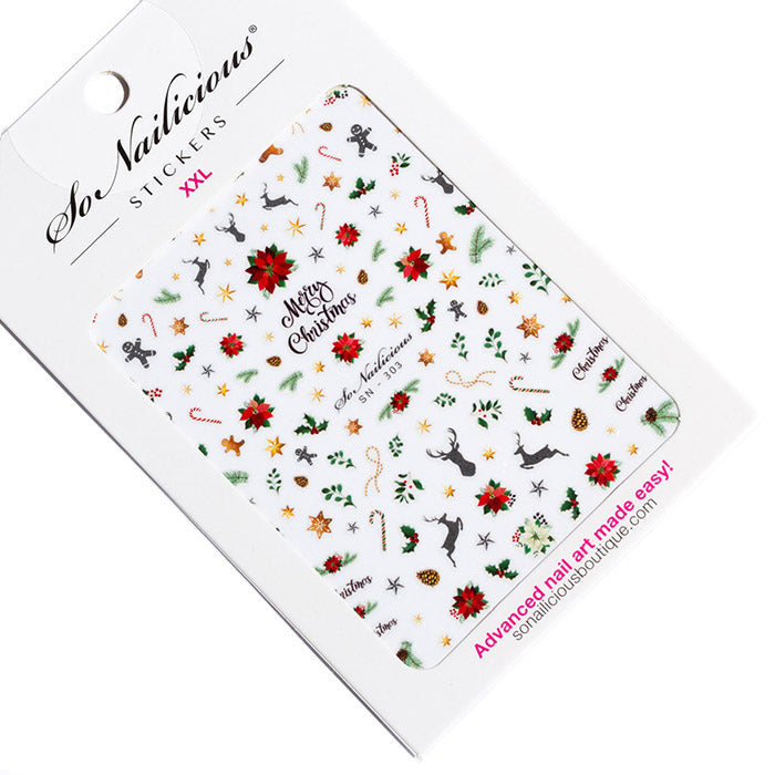 Christmas Ornament Stickers - 303 XXL