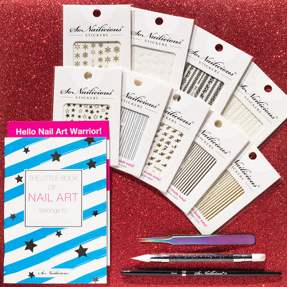 Christmas Nail Art Kit