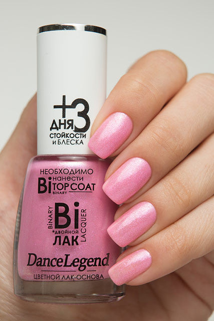 DANCE LEGEND Alina, pink shimmer polish