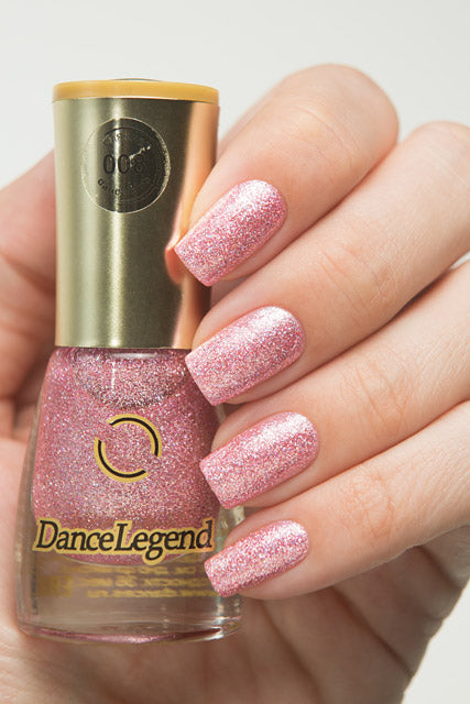 DANCE LEGEND 008 pink glitter polish