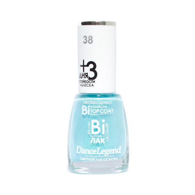 DANCE LEGEND Linda, bright turquoise nail polish