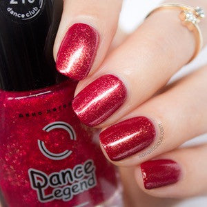 DANCE LEGEND red show nail polish