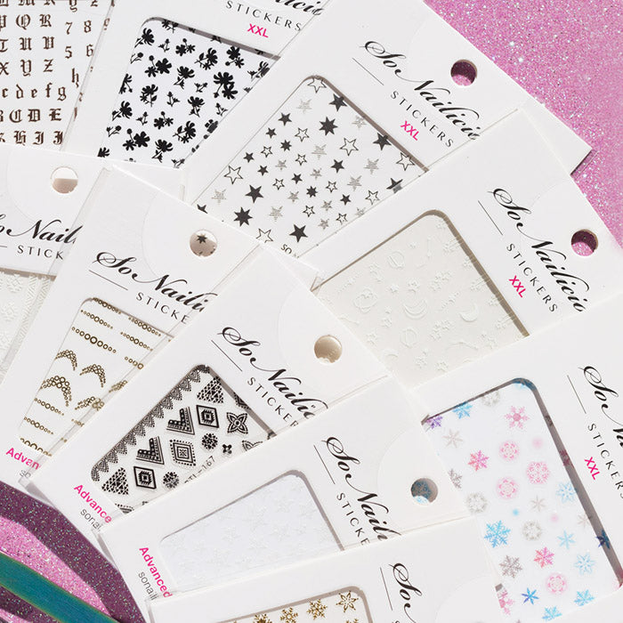 Fast & Flawless Nail Art Kit - nail stickers