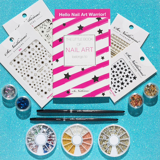 freehand lover nail art kit