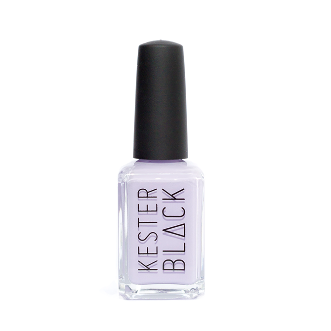KESTER BLACK Luna, light lavender nail polish