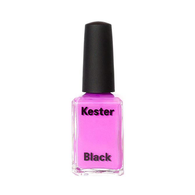 KESTER BLACK Violet, bright purple nail polish