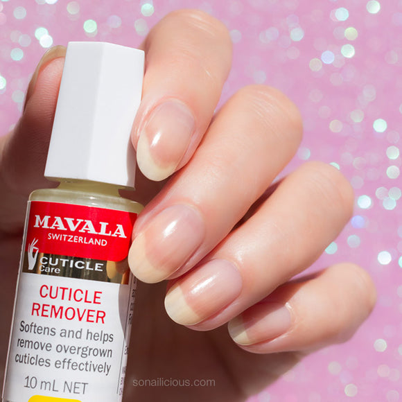 Mavala cuticle remover - instant help for dry cuticles!