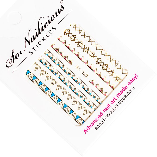 Mediterranean Summer Nail Stickers