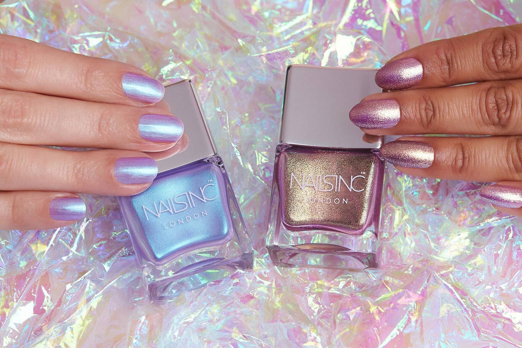 Nails inc Sparkle Like a Unicorn swatches