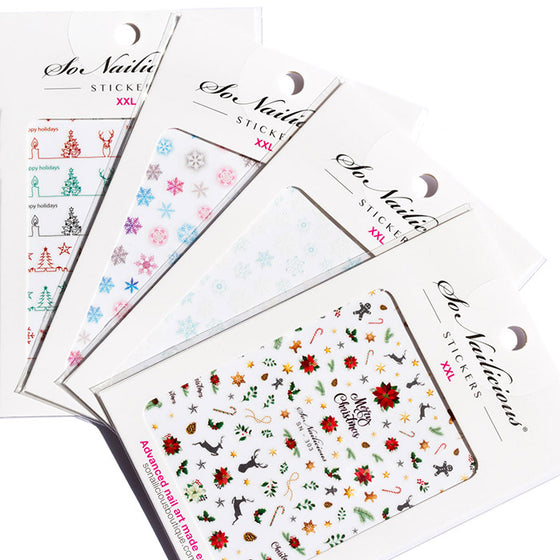 Jolly Holly Christmas Sticker Set - SAVE 20%