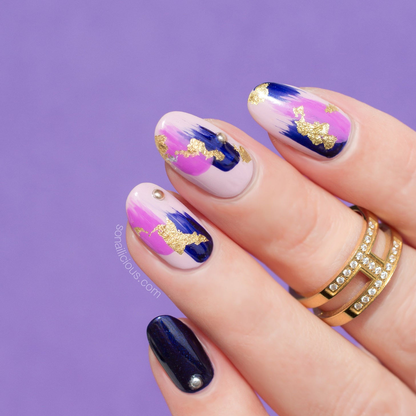 Flakes Nail Foil - 4 Colours - BACK IN STOCK! - SoNailicious Boutique