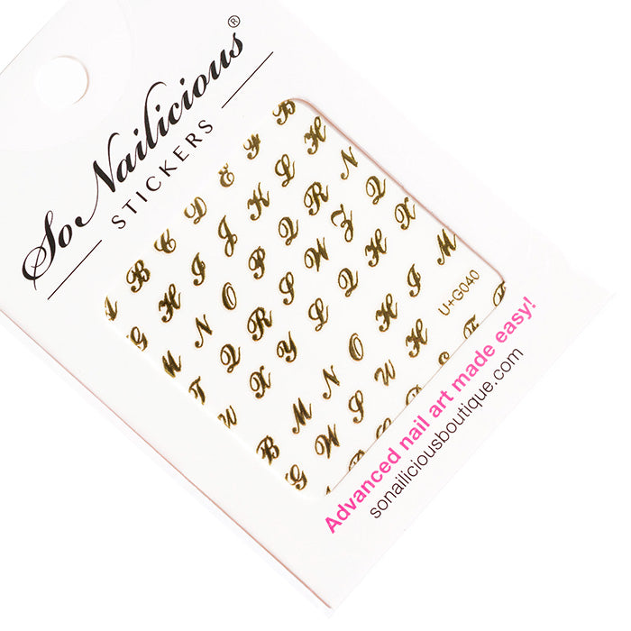 Christmas Nail Stickers Set (SAVE 20%!) - LIMITED EDITION - ONLY 1 LEFT!