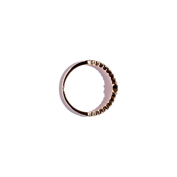 rose gold star ring