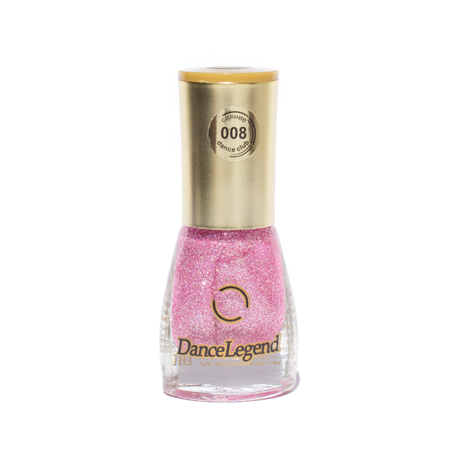 DANCE LEGEND 008 pink holographic nail polish