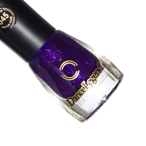 DANCE LEGEND 045 Purple Glitter Rain - NEW!