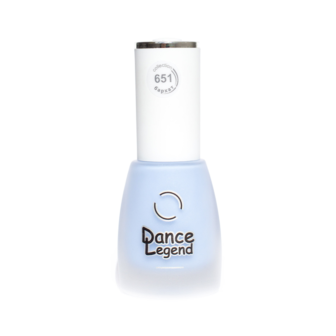 DANCE LEGEND 651 blue matte nail polish