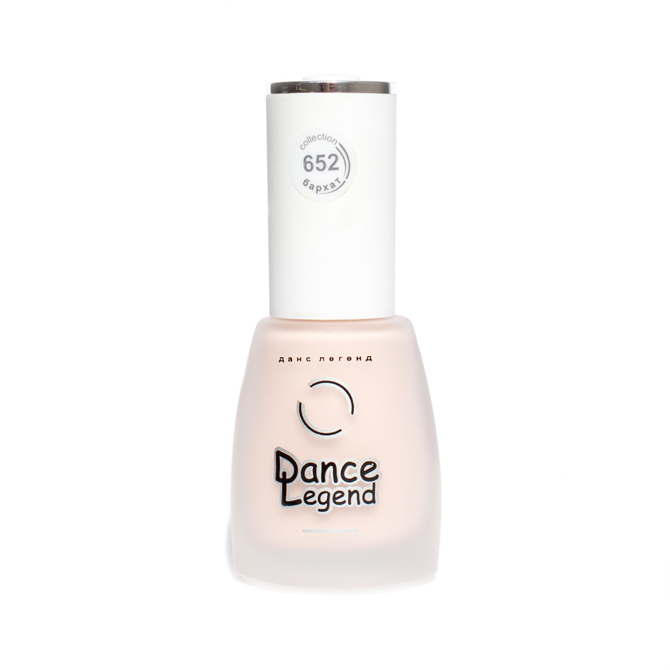 DANCE LEGEND 652 Beige matte nail polish