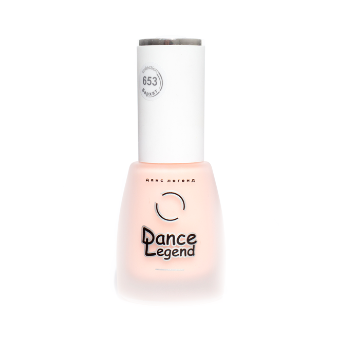 DANCE LEGEND 653 Peach matte nail polish