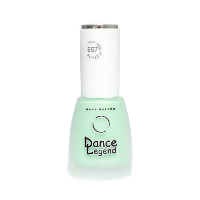 Dance Legend 657, mint matte nail polish