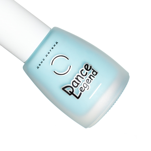 Dance Legend 658, blue matte nail polish