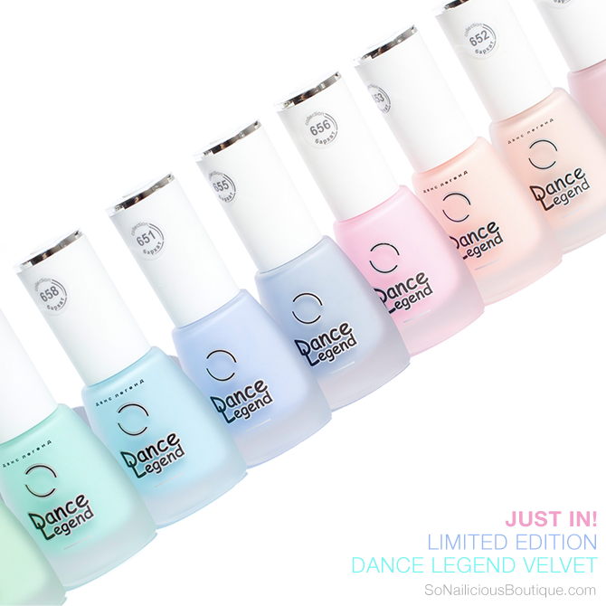 DANCE LEGEND Velvet matte nail polish