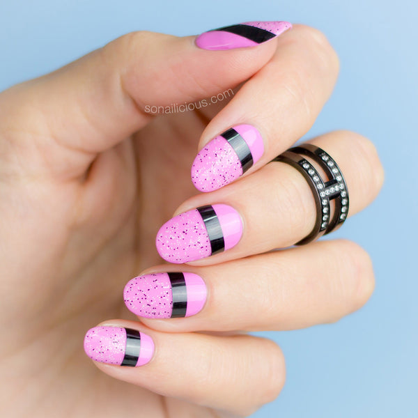 Patterns Using Tape Nail Art: Nail Art Striping Tape, Extra Wide