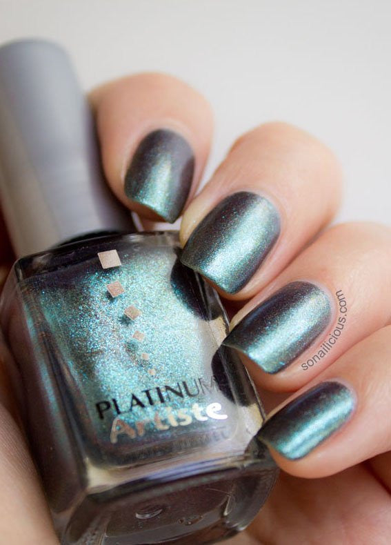 PLATINUM POLISH Emerald Duochrome