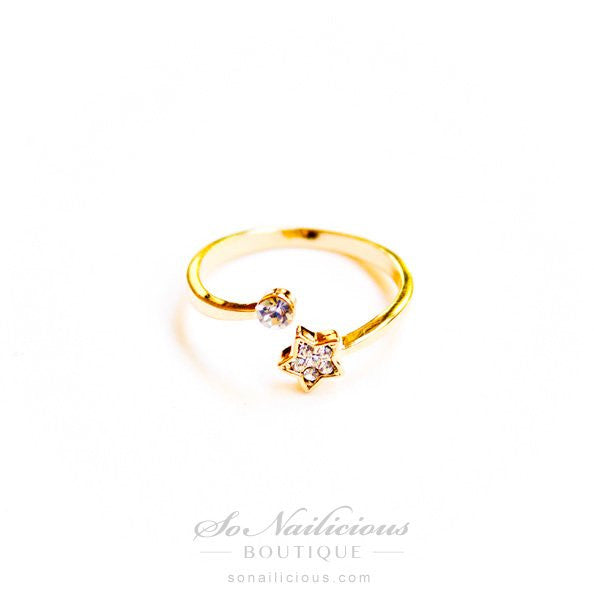 Starlight Golden Ring - ONLY 2 LEFT!