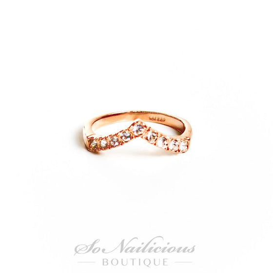 Spikes Delicate Gold Ring - 20% OFF!