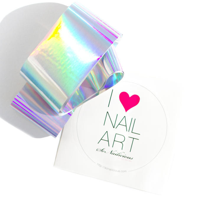Holographic Nail Foil