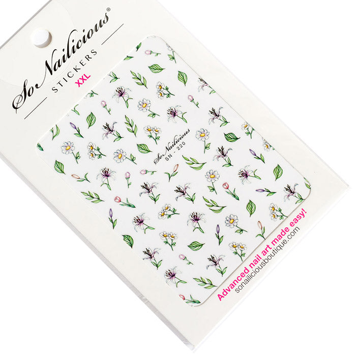 Delicate Lily stickers