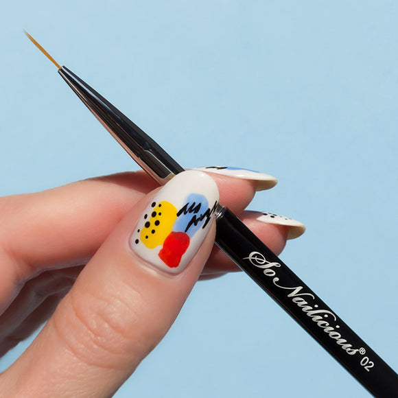 SoNailicious brush 02 Needle - liner nail art brush