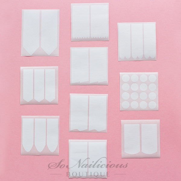 All-In-One Nail Stencils Set