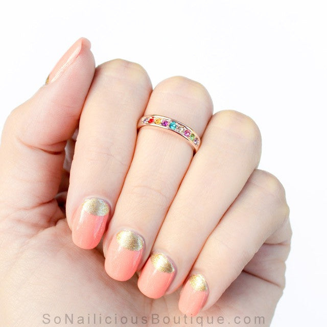Rainbow Midi Ring - 20% OFF!