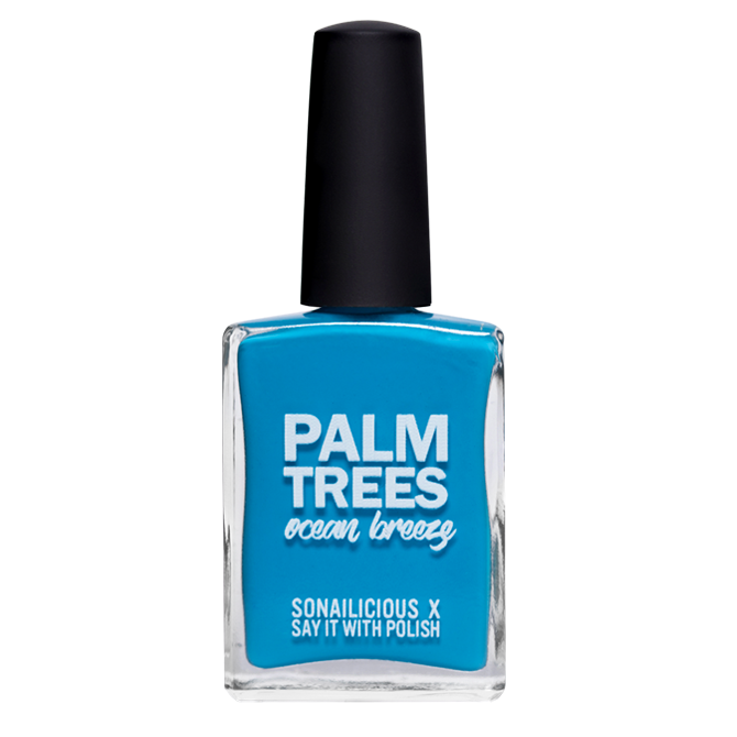 SoNailicious x Say It With Polish 'Palm Trees Ocean Breeze' - LIMITED EDITION