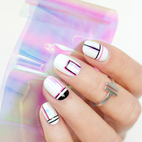 Shattered Glass Nail Foil