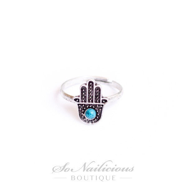 Third Eye Hand Ring - 20% OFF!