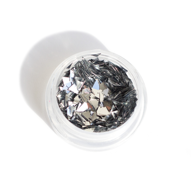 Triangle Nail Glitter - 4 Colours